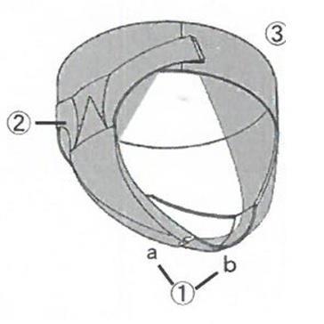 骨盤底サポーターの形状と構造